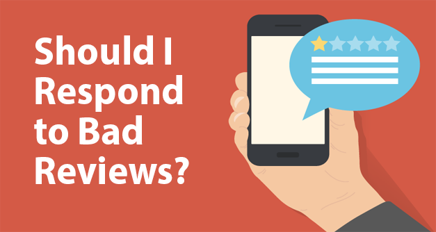 Responding to Bad Reviews