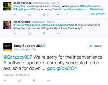 Sony-Support-Twitter