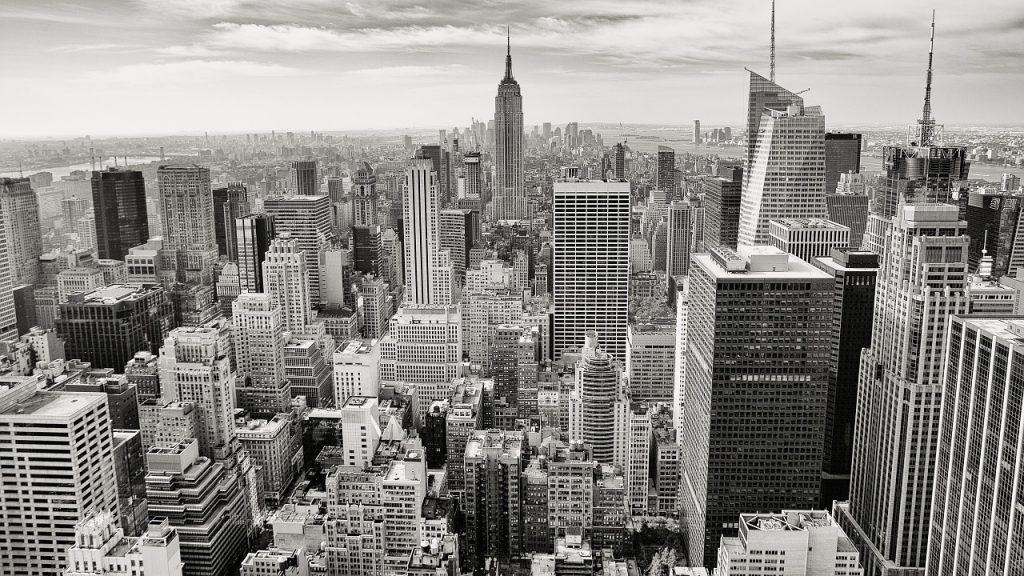 High Rises in Manhattan