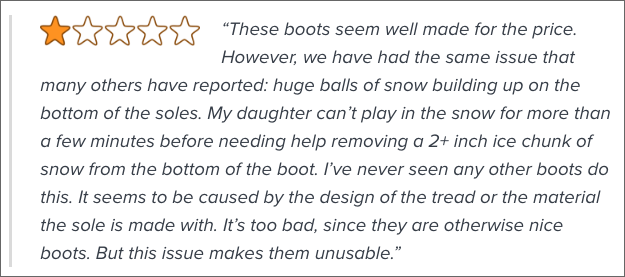 Bad Boots Review on Amazon