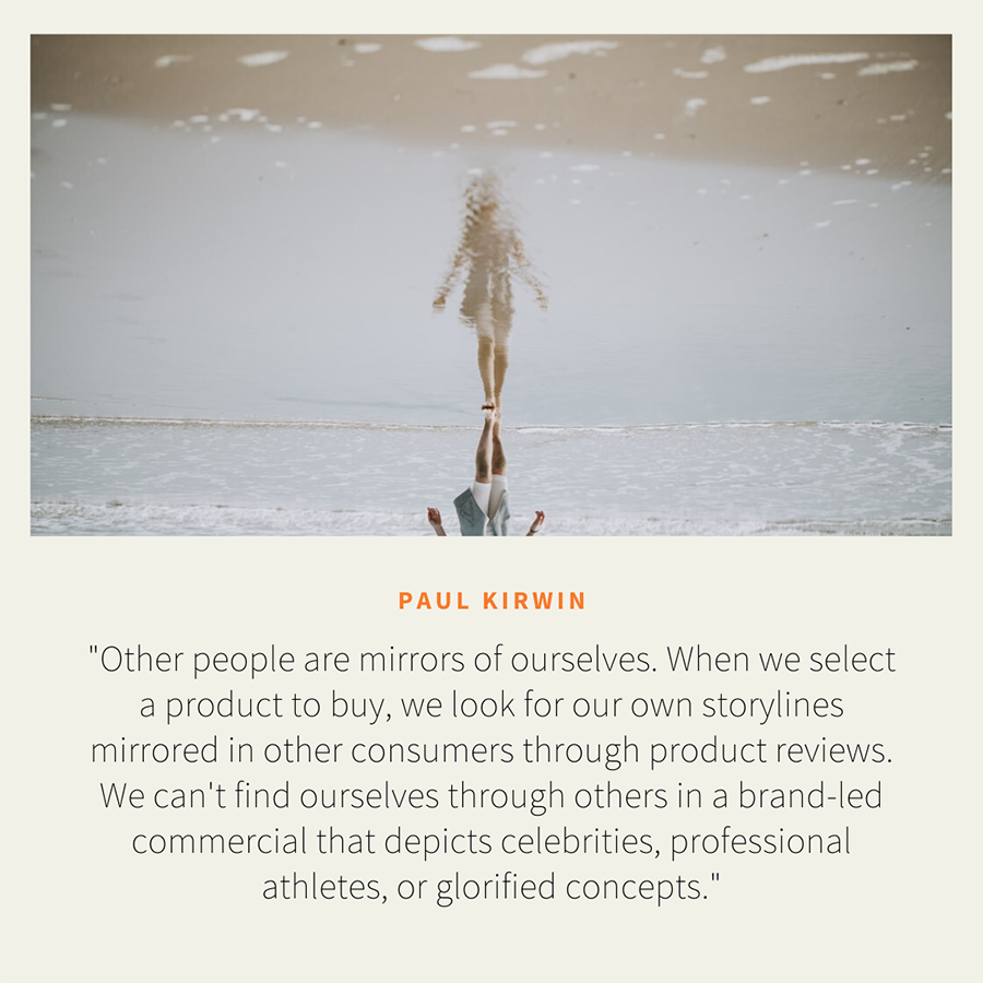 mirrors of ourselves paul kirwin quote
